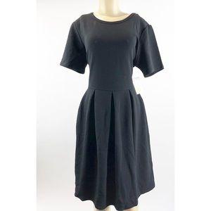 LuLaRoe Black Amelia Dress Size 3x